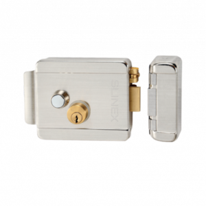 Электромеханический накладной замок c блокировкой кнопки Slinex EL-02