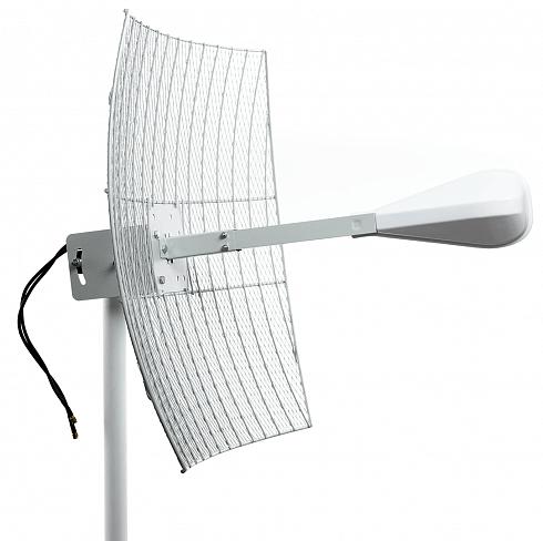 3G/ 4G параболическая MIMO антенна 2x27 dB